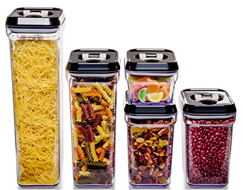 Royal Air Tight Food Storage Container Set 5 Piece Set