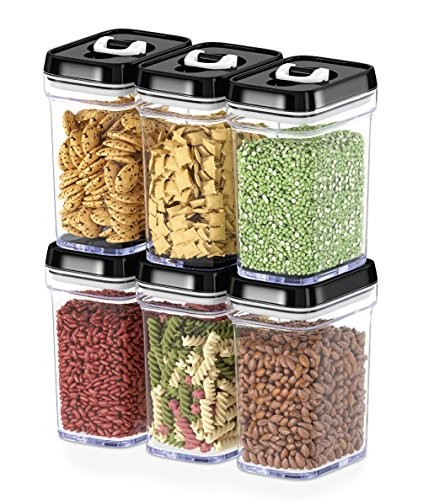 Pantry Food Storage Containers: Dwellza Kitchen Airtight Food Storage Containers With Lids